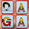 Kids games, Match The Alphabets