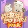 Misc games, Marshmallow Picnic,Two marshmallow friends,Two marshmallow,marshmallow friends
