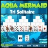 Cards games, Aqua Mermaid Tri Solitaire